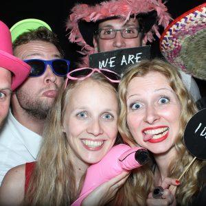 Feier mit Deinen Freunden und der Fotobox