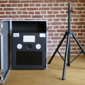Schneller Aufbau der Fotobox